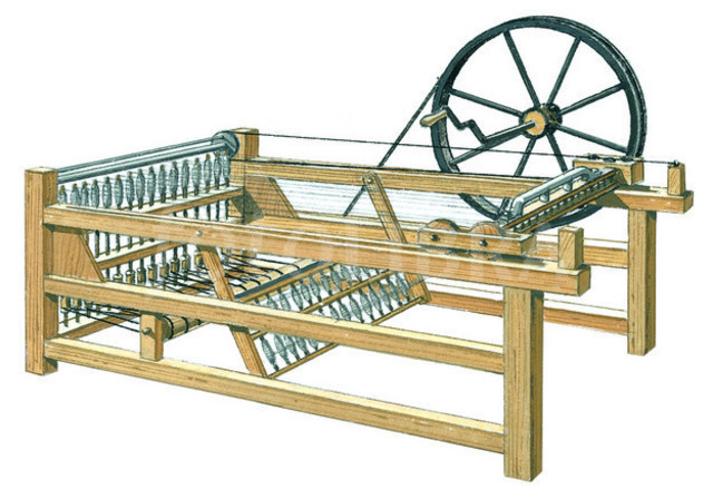 Spinning Jenny Was Invented.