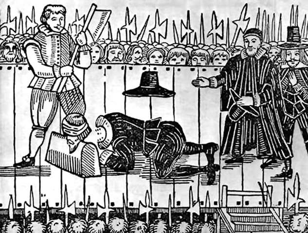 Execution of Chales The 1st. Part 1