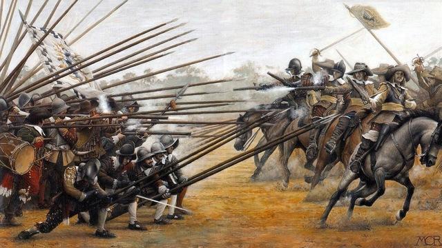 English Civil War.