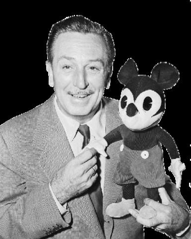 Walt Disney was born