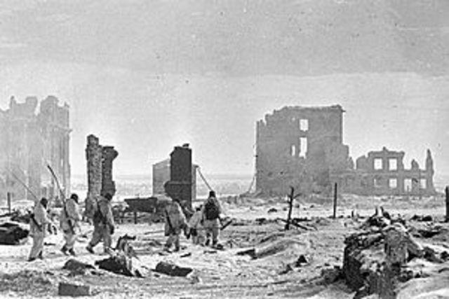 Direcció sud: Stalingrad