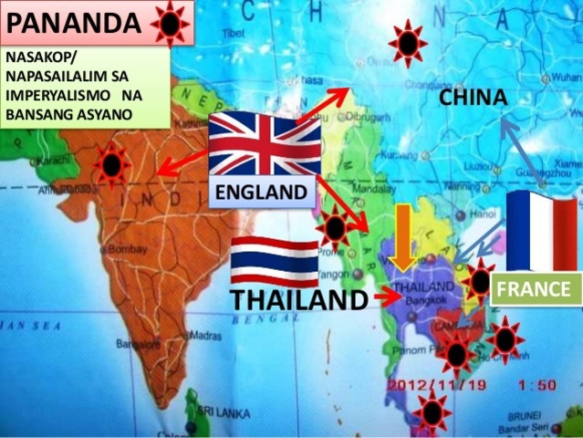 France and Britain Agree To Keep Thailand As Buffer State