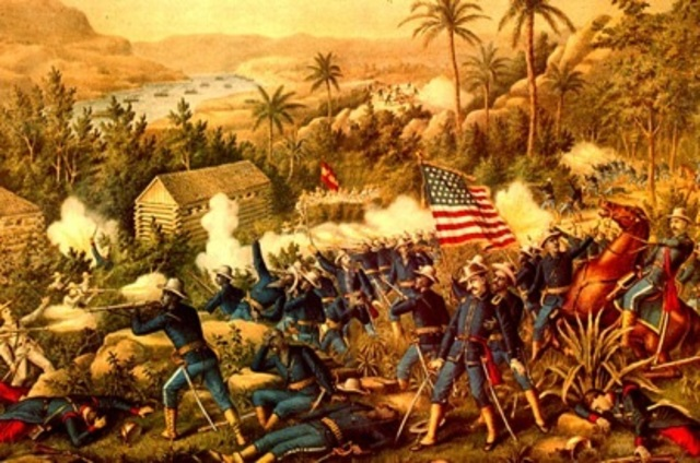 US Defeats Spain For Philippines
