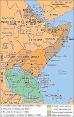 Britain Partition East Africa