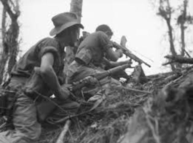 Australian troops in war