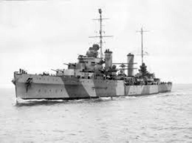 HMAS Sydney attacked Bartolomeo Colleoni