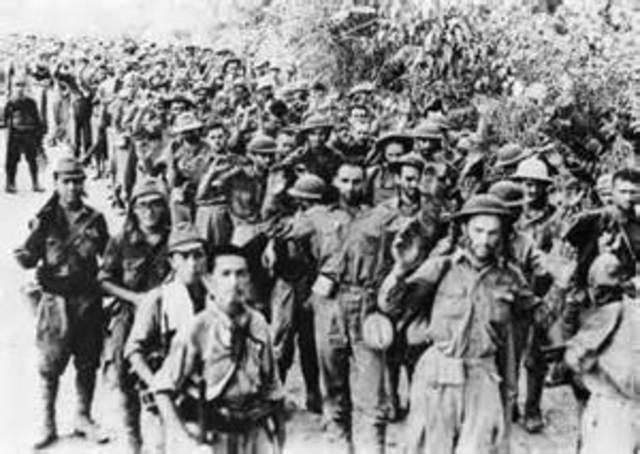 Loss of Philippines and Bataan Death March