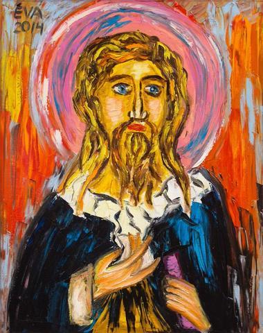 Иисус Христос кистей Васильевой