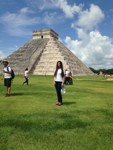 Viaje a Chichen-Itzá
