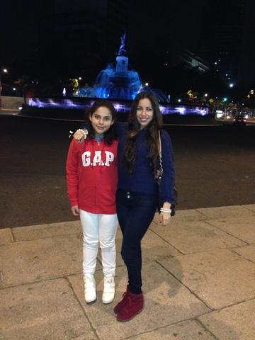 Viaje a México con mi papá y mi hermanita