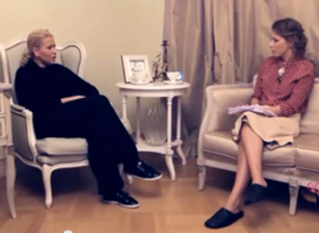 Интервью Ксении Собчак