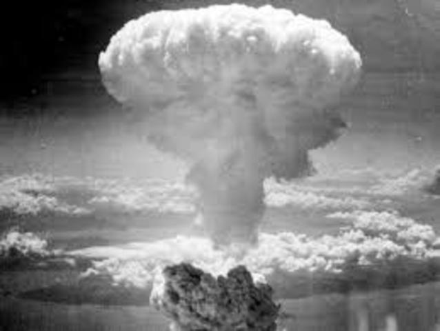 Atomic Bomb Is Dropped