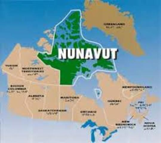 Creation o Nunavut