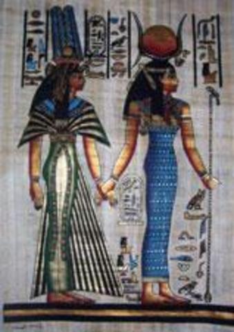 Primeros vestidos  año 500 A.C