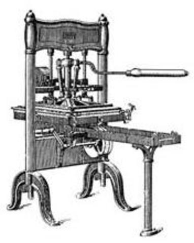 La imprenta año 1440