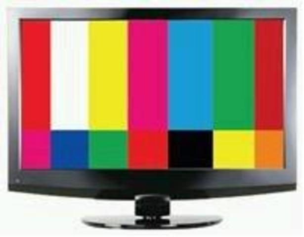 La televisión  año 1937