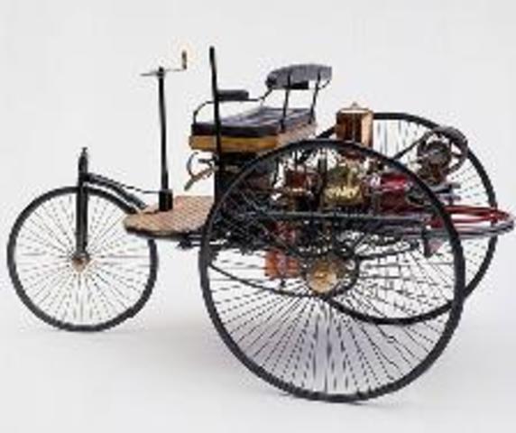 El coche eléctrico   1886