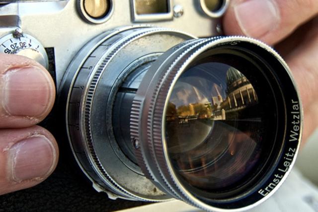 La camara fotografica