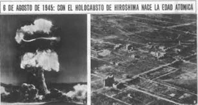 Bomba atòmica sobre Hiroshima