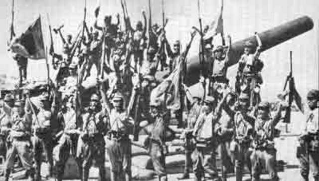 Japó invaeix Filipines
