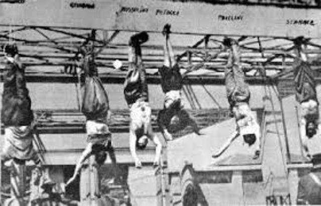 Execució de Mussolini