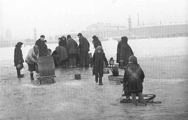 Inici del setge de Leningrad