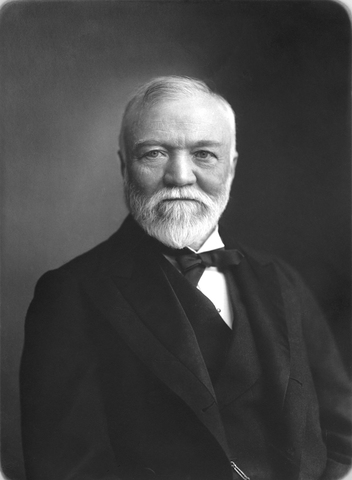 Andrew Carnegie learns about making steel