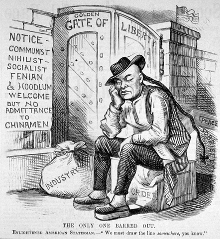 Chinese Exclusion Act passed