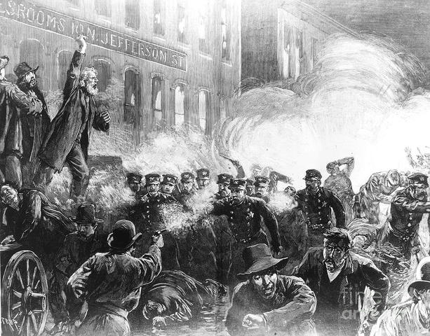 Haymarket Square Riots