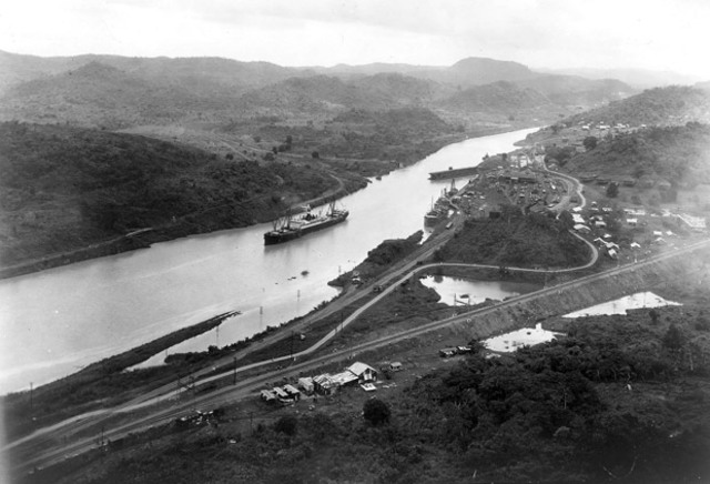Panama Canal built