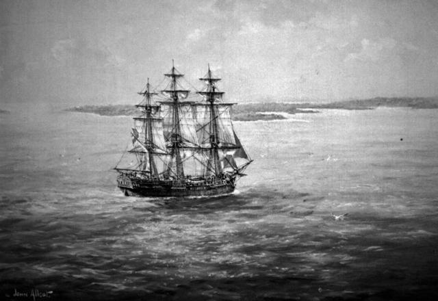 Flinders starts his expedition on the Investegator