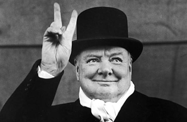 Winston Churchill nomenat president