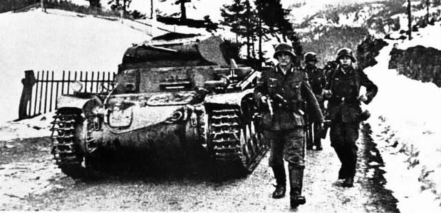 El III Reich arriba a Noruega