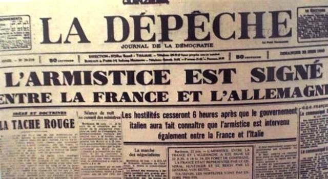 Armistici: Dues Frances