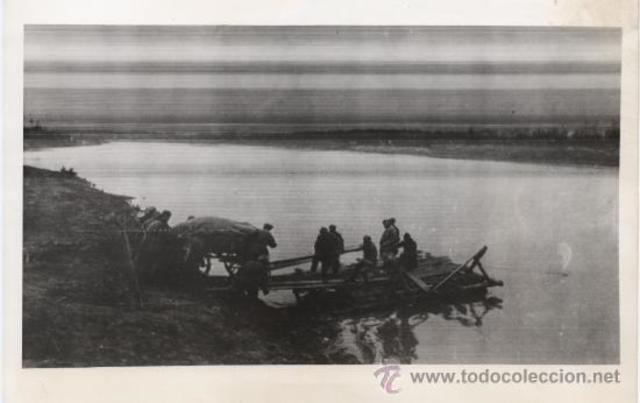 Aparició dels soviètics al riu Prut