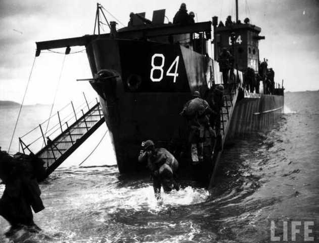 Tropes britàniques en Normandia