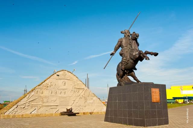 Памятник Якову Бакланову