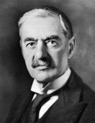 Dimissió de Chamberlain