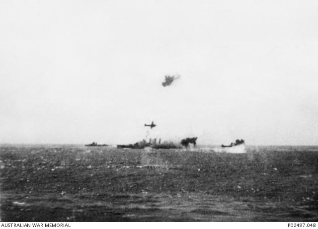 Final de la Batalla al Mar del Corall