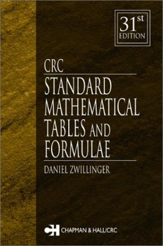Standard Mathematical Tables