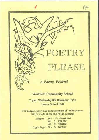 Poetry Please Dec 1993
