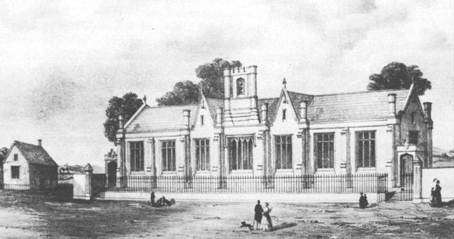 Yeovil National School Opens c1870