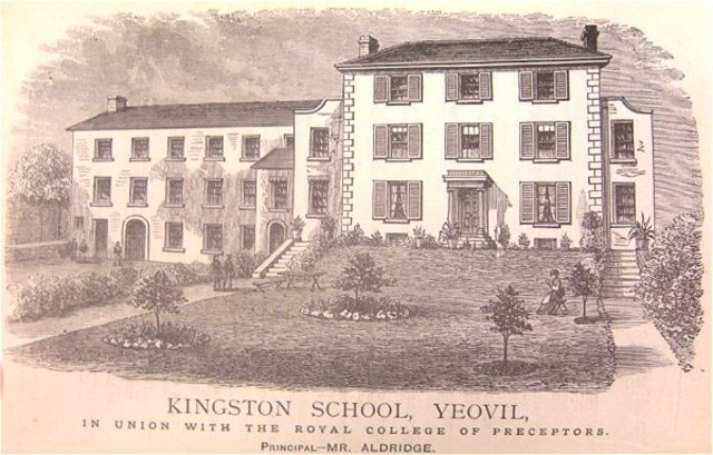 Mr Alfred Aldridge became Headmaster of Kingston School following his father's retirement.