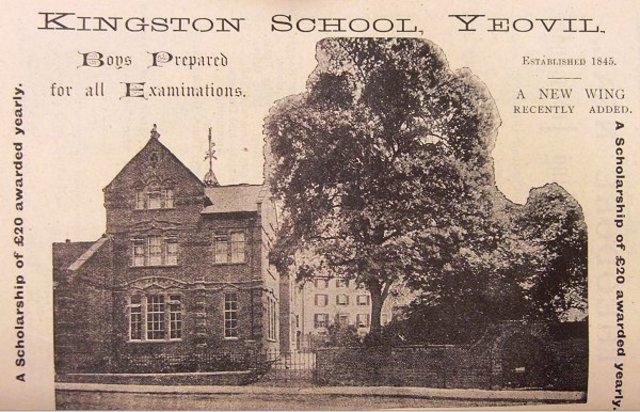 Rev'd A.W. Batchelor became Headmaster of Kingston School