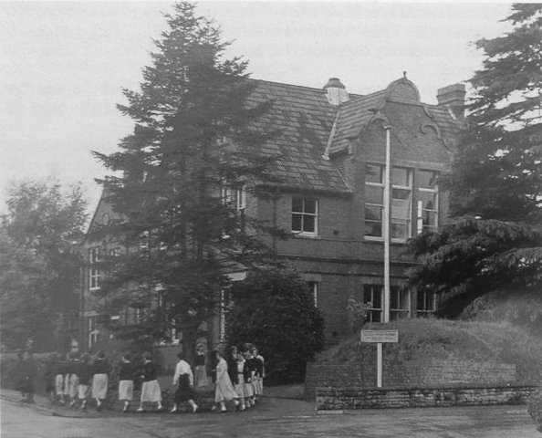 Yeovil High school 45 The Park Early 1950s