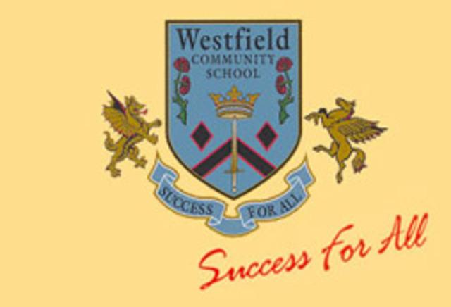 New Westfield Community School logo introduced during 1997/98 school year