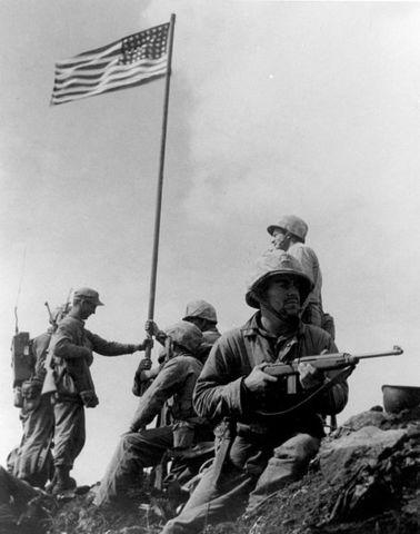 Important victòria: Iwo Jima