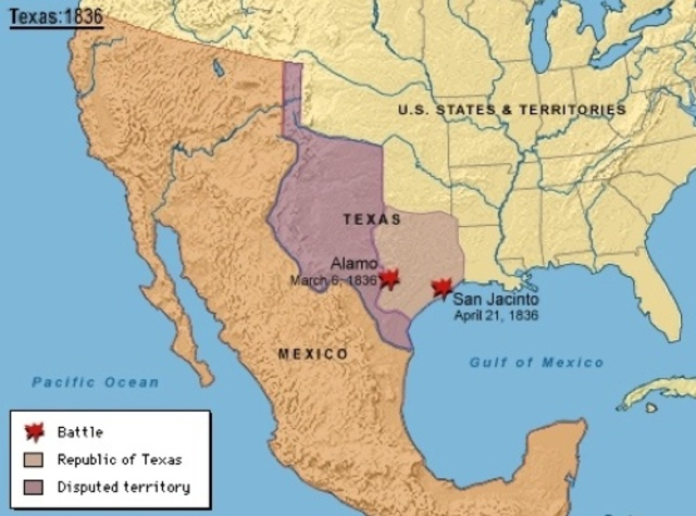 Mexico Loses Almost Half Of Its Territory To United States