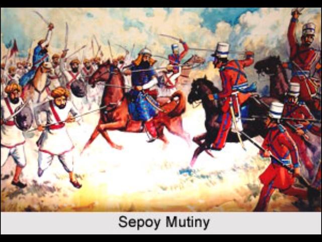 Sepoy Mutiny Fails