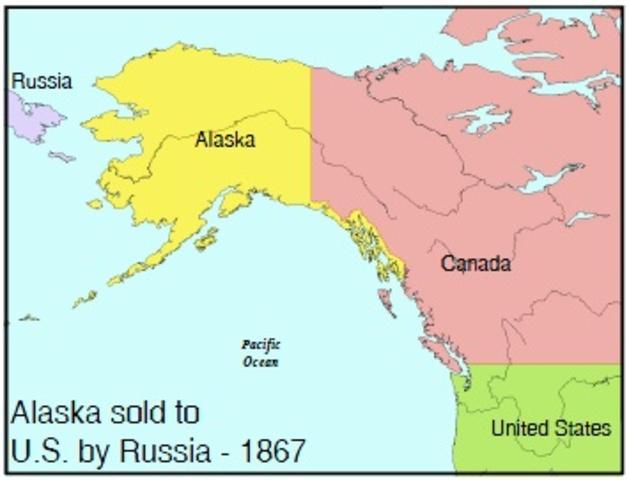 US Purchases Alaska